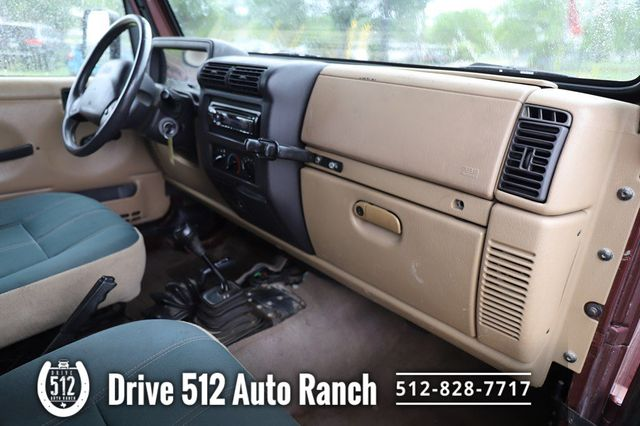 2001 Jeep Wrangler Sahara in Austin, TX 78745