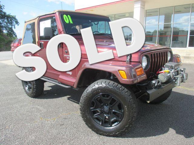 2001 Jeep Wrangler Sahara Canton , GA