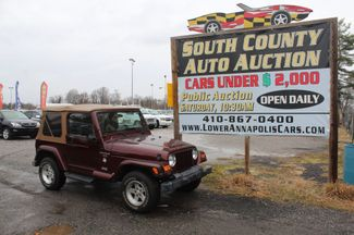 2001 Jeep Wrangler in Harwood, MD