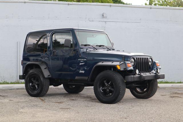 2001 Jeep Wrangler Sport Hollywood, Florida 24