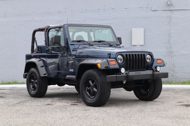 2001 Jeep Wrangler Sport Hollywood, Florida 9