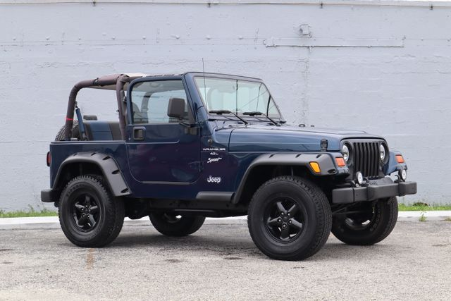 2001 Jeep Wrangler Sport Hollywood, Florida 42