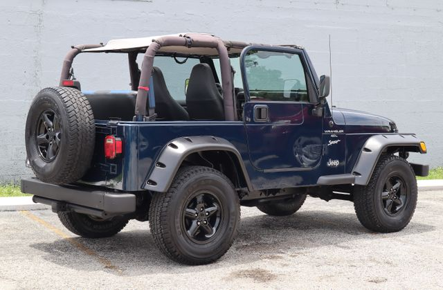 2001 Jeep Wrangler Sport Hollywood, Florida 3