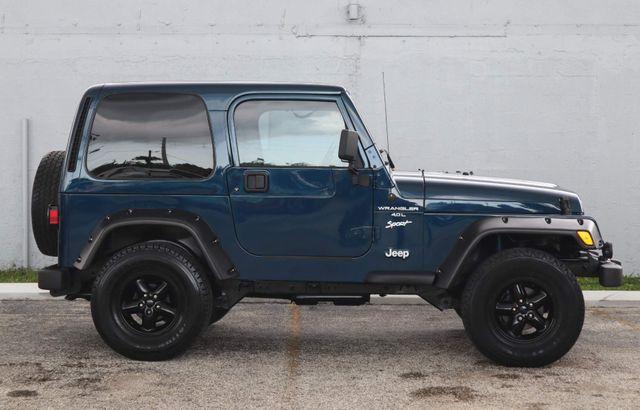 2001 Jeep Wrangler Sport Hollywood, Florida 11