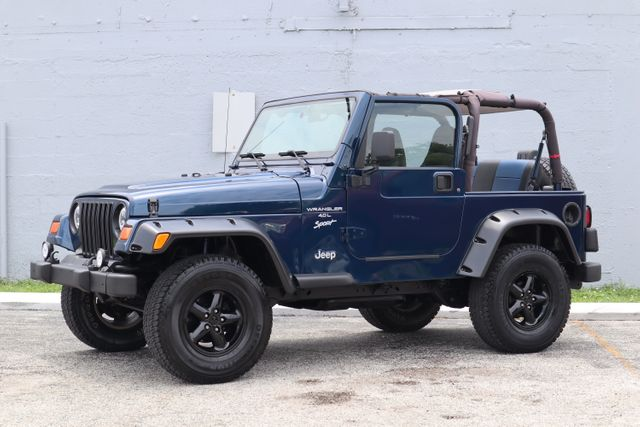 2001 Jeep Wrangler Sport Hollywood, Florida 7