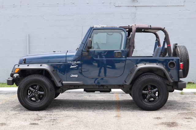 2001 Jeep Wrangler Sport Hollywood, Florida 6