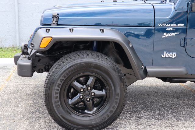 2001 Jeep Wrangler Sport Hollywood, Florida 45