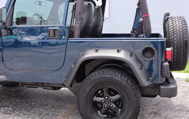 2001 Jeep Wrangler Sport Hollywood, Florida 46