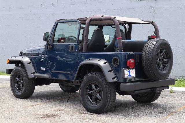 2001 Jeep Wrangler Sport Hollywood, Florida 5