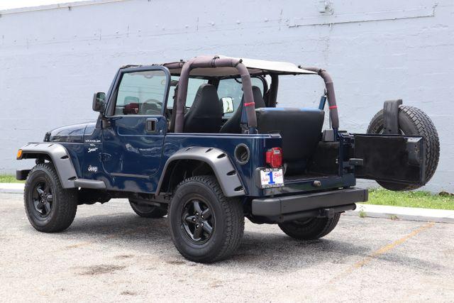 2001 Jeep Wrangler Sport Hollywood, Florida 49