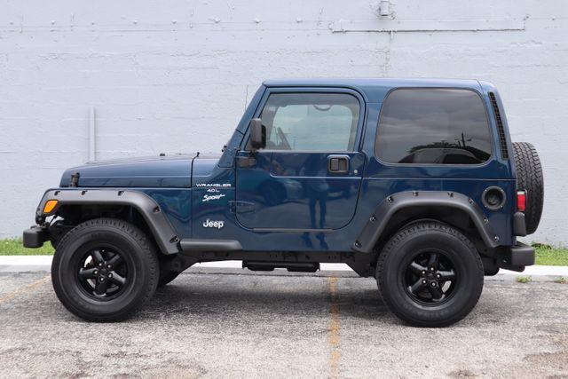 2001 Jeep Wrangler Sport Hollywood, Florida 15