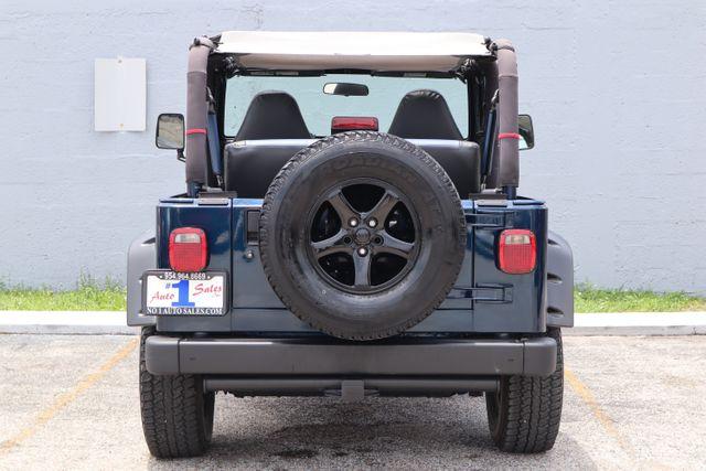 2001 Jeep Wrangler Sport Hollywood, Florida 4