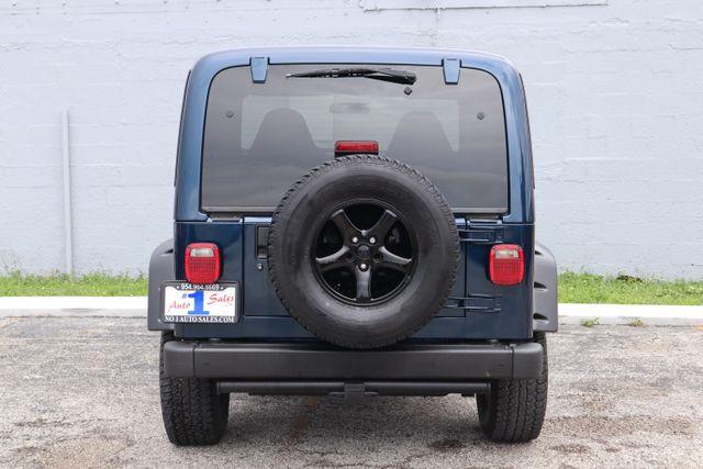 2001 Jeep Wrangler Sport Hollywood, Florida 13