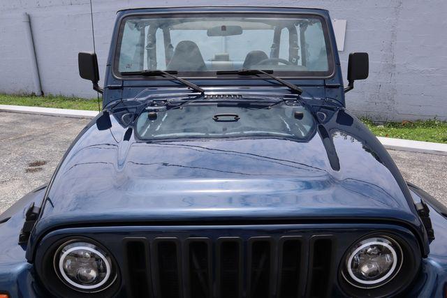 2001 Jeep Wrangler Sport Hollywood, Florida 34