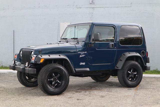 2001 Jeep Wrangler Sport Hollywood, Florida 16