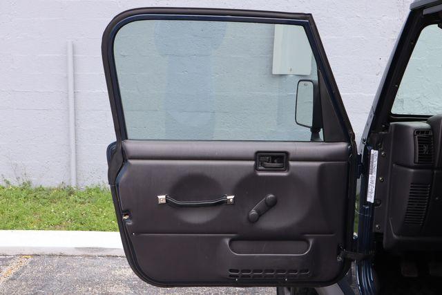 2001 Jeep Wrangler Sport Hollywood, Florida 31