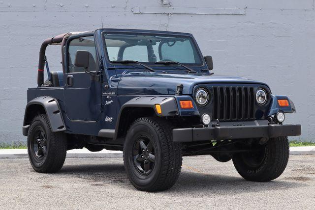 2001 Jeep Wrangler Sport Hollywood, Florida 33