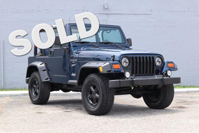 2001 Jeep Wrangler Sport Hollywood, Florida