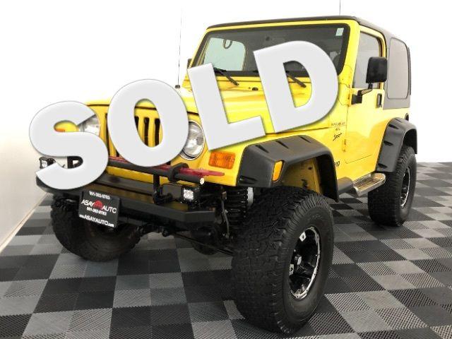 2001 Jeep Wrangler Sport LINDON, UT