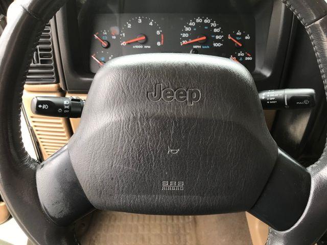 2001 Jeep Wrangler Sahara in Medina, OHIO 44256