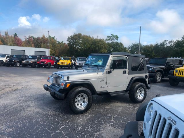 2001 Jeep Wrangler Sport in Riverview, FL 33578