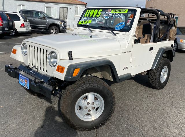 2001 Jeep Wrangler SE/TJ SE 4WD Manual 5-Speed 2.5L - 1 OWNER, CLEAN TITLE, NO ACCIDENT W/ 134,000 MILES