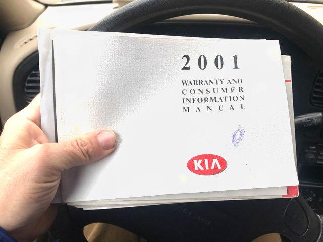 2001 Kia Sephia LS Knoxville, Tennessee 14