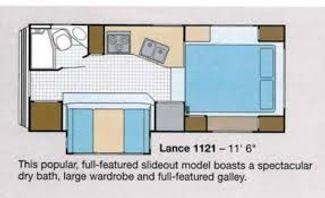 2001 Lance 1121   in Surprise-Mesa-Phoenix AZ