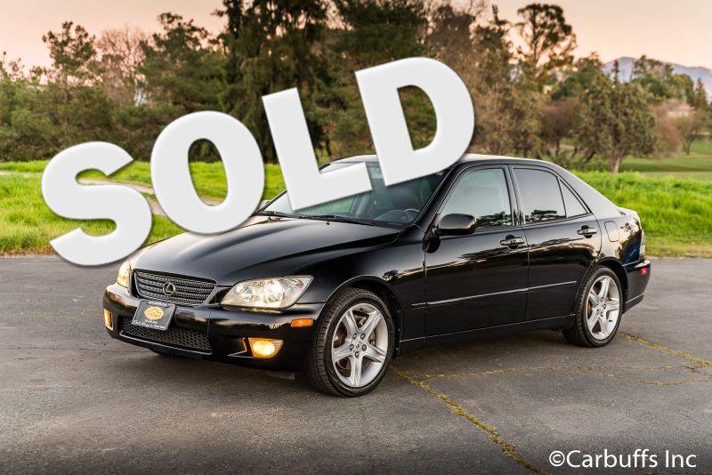 2001 Lexus IS 300    Concord, CA   Carbuffs
