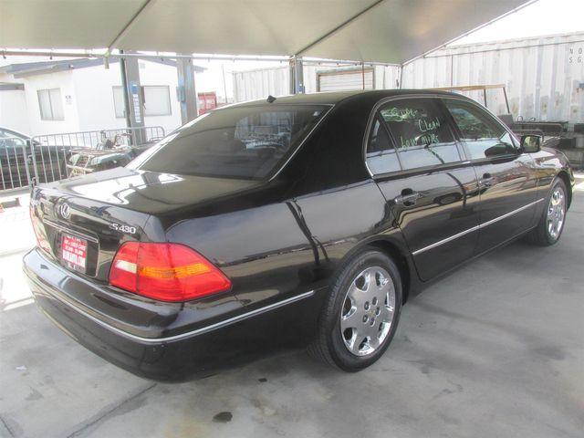 2001 Lexus LS 430 Gardena, California 2