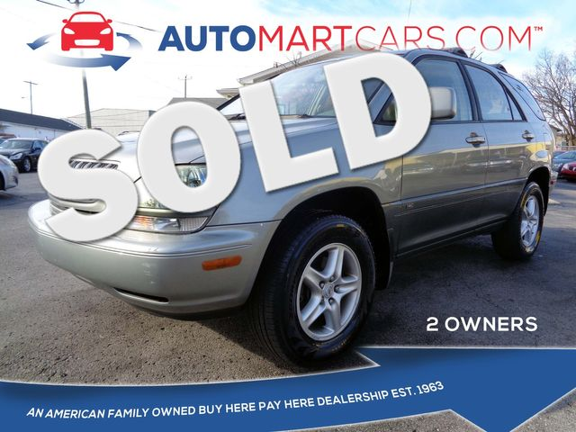 2001 Lexus RX 300  | Nashville, Tennessee | Auto Mart Used Cars Inc. in Nashville Tennessee