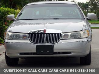 2001 Lincoln Town Car Executive West Palm Beach Florida The