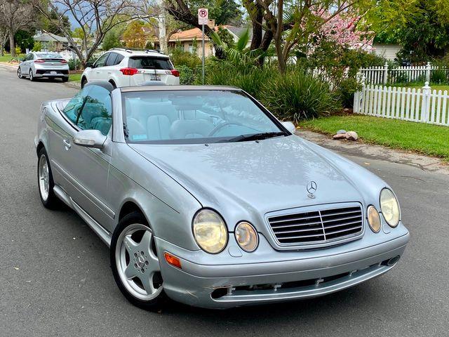 2001 Mercedes-Benz CLK430 CONVERTIBLE 99K MLS AUTOMATIC SERVICE RECORDS in Van Nuys, CA 91406