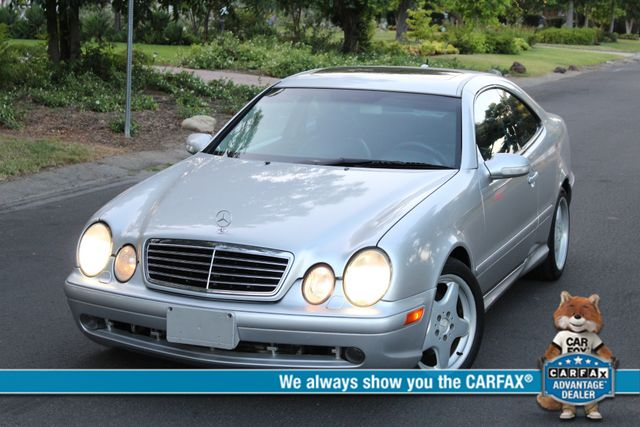 2001 Mercedes-Benz CLK430 COUPE AMG WHLS SERVICE RECORDS