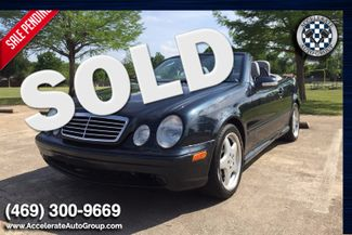 2001 Mercedes-Benz CLK430 LOW MILES! in Rowlett