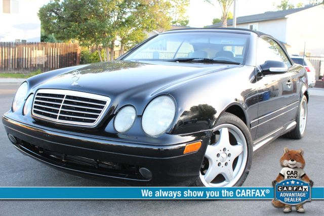 2001 Mercedes-Benz CLK430 NAVIGATION AUTOMATIC LEATHER SERVICE RECORDS