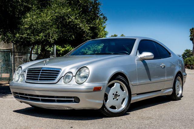 2001 Mercedes-Benz CLK55 AMG *SALVAGE TITLE* Reseda, CA 1