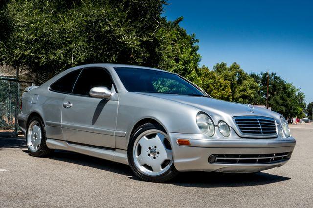 2001 Mercedes-Benz CLK55 AMG *SALVAGE TITLE* Reseda, CA 3