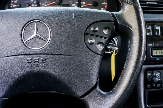 2001 Mercedes-Benz CLK55 AMG *SALVAGE TITLE* Reseda, CA 20