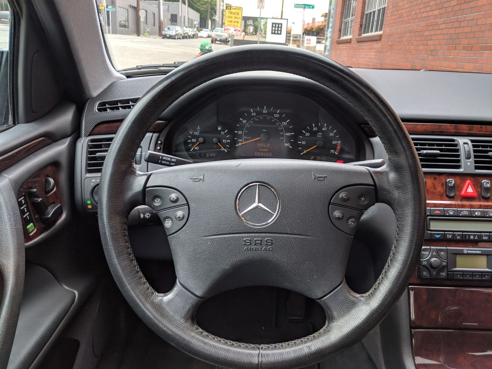 ... 2001 Mercedes-Benz E430 Local 2 Owner Full History Great Value 88000  Original Miles Luxury ...