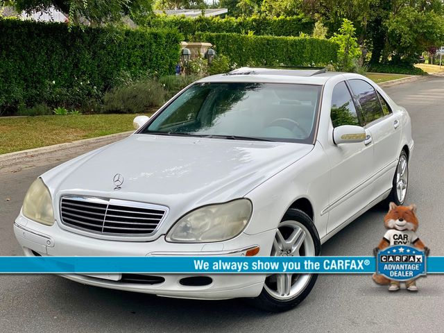 2001 Mercedes-Benz S430 NAVIGATION SERVICE RECORDS NEW TIRES in Van Nuys, CA 91406