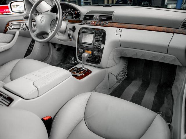 2001 Mercedes-Benz S500 Burbank, CA 12
