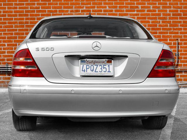 2001 Mercedes-Benz S500 Burbank, CA 3
