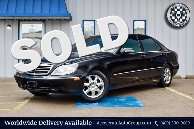 2001 Mercedes-Benz S500  in Rowlett