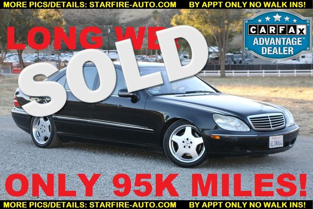 2001 Mercedes-Benz S500 LONG WHEELBASE Santa Clarita, CA 0