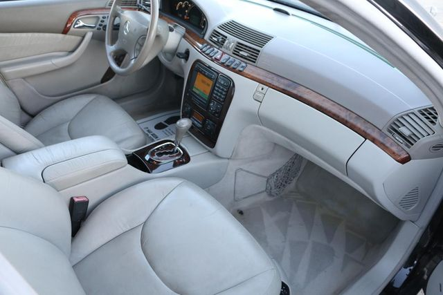 2001 Mercedes-Benz S500 LONG WHEELBASE Santa Clarita, CA 9