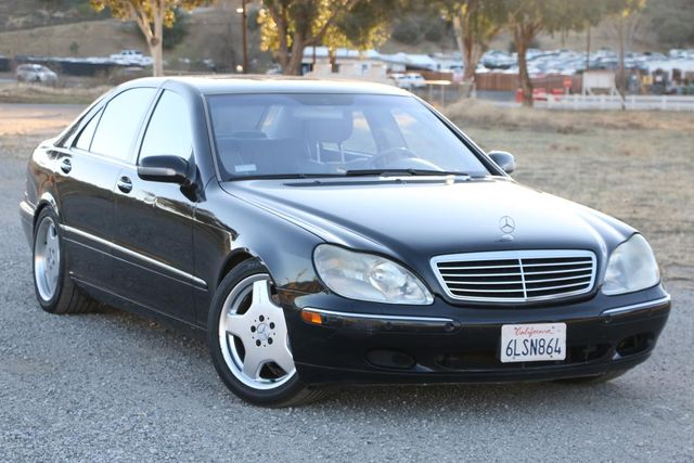2001 Mercedes-Benz S500 LONG WHEELBASE Santa Clarita, CA 3