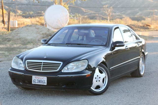 2001 Mercedes-Benz S500 LONG WHEELBASE Santa Clarita, CA 4