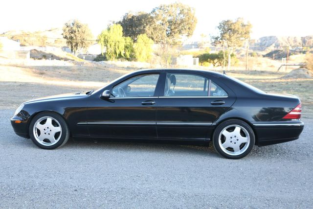 2001 Mercedes-Benz S500 LONG WHEELBASE Santa Clarita, CA 11