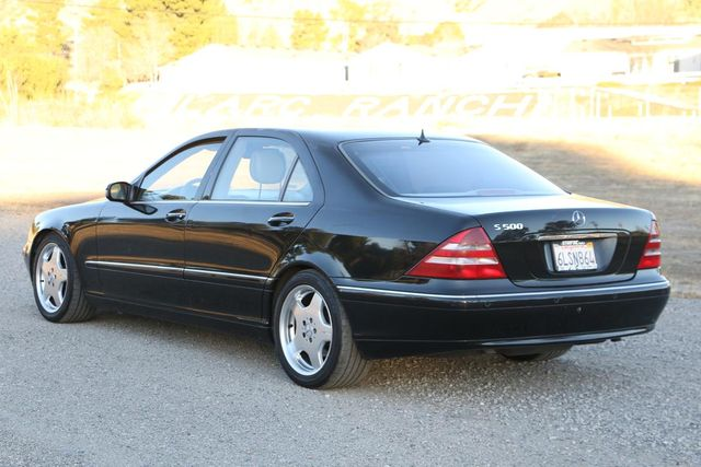 2001 Mercedes-Benz S500 LONG WHEELBASE Santa Clarita, CA 5
